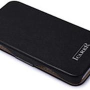 Чехол книжка iCarer Luxury Series (flip case) для iPhone 5C black фото