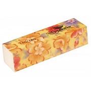 Dona Jerdona Баф шлифовочный желтый с цветочками 180/180 фото