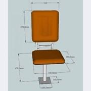 Сиденье машиниста крана КР-1 (для пульта ПУБК)  фото