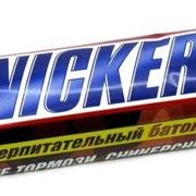 Шоколадный батончик Сникерс (Snickers) 55г фото