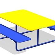 Стол со скамейками Друзья МАФ-05.03 фото
