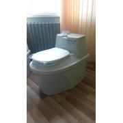 Туалет для дачи торфяной Компакт Эко фото