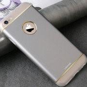 Чехол накладка Usams для Apple iPhone 6 Noble Series (серебро) фото