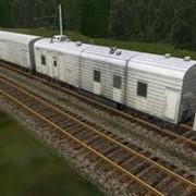 Перевозки железнодорожными рефрижераторными вагонами фото