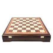 Шахматный ларец Стаунтон орех фото