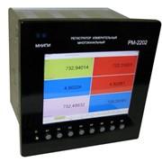 Регистратор измерительный много канальный PM-2202 фото