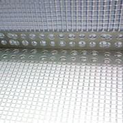 Угол ПВХ с фасадной сеткой 10х15 125гр/м.кв фото
