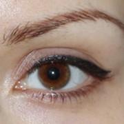 Коррекция татуажа глаз фото