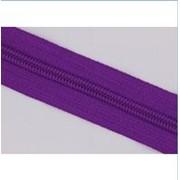 Молния рулонная обувная №7 в ассортименте, фиолетовая фото