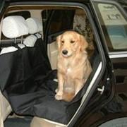 Автогамак для собак - Черный фото