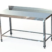 СПБ (по) -6-6 Стол производственный с бортом (600х600х870 мм.) (обвязка) фото