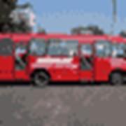 Реклама в маршрутных такси фото