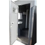 Теплая туалетная кабина М-2 фото