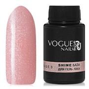 Vogue Nails, База Shine №3, 30 мл фото