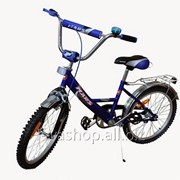 """Велосипед Марс 18"""" ручной тормоз + эксцентрик (синий / черный) фото"""