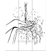 Услуга пескоструйной обработки на 3 стекла артикул 203-1 фото