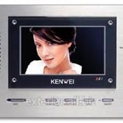 Цветной встраиваемый видеодомофон Kenwei KW-123FC-W32 фото