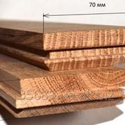 Доски обрезные из дуба фото