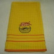 Махровое полотенце для кухни фото