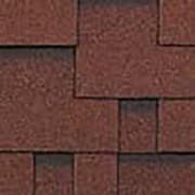 Гибкая черепица Roofshield Classic Модерн коричневый с оттенением фото