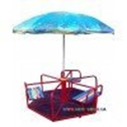 Карусель шестиместная с зонтиком Dali 604/кр фото