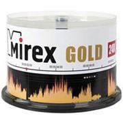Компакт диск CD-R 700мБ Mirex Голд в тубе 50 шт. фото