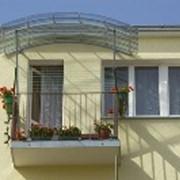 Козырек Fastlock Балкон 2.0 и 3.0 фото