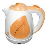 Чайник электрический Delta ВАСИЛИСА Т1-1500 Белый персиковый 1.5л фото