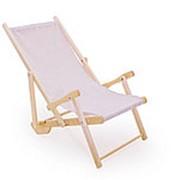 Деревянный лежак для пляжа СМКА СМ001Б фото
