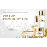 Набор по уходу за кожей лица с частицами золота Secret Key 24K gold premium first set фото