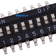 DIP-переключатель DHN-08-V фото