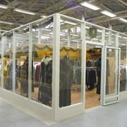 Алюминиевые двери Монтаж фото