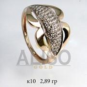 Золотое кольцо 585 пробы фото