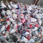 Текстильные отходы, ветошь фото