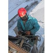 Промышленный альпинизм. фото
