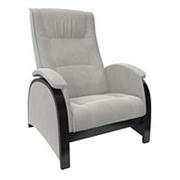 Кресло-глайдер Модель Balance 2 (80х79х103см) Венге/шпон, ткань Verona Light Grey фото