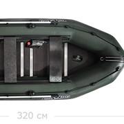 Профессиональная скоростная надувная лодка повышенной безопасности. фото