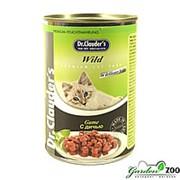 Консервы для кошек Доктор Клаудер 415гр дичь фото