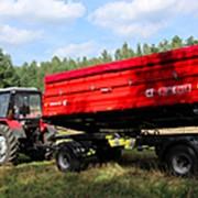 Прицеп тракторный самосвальный Metal-Fach Т-940/2 с надставными бортами фото