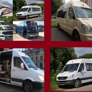 Аренда микроавтобусов и автобусов,доставка сотрудников фото