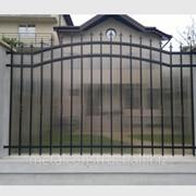 Забор для загородного дома №7 фото