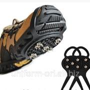 Шипы противоскольжения Антилед на обувь фото