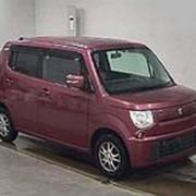 Хэтчбек 3 поколение SUZUKI MRWAGON кузов MF33S класса микровэн гв 2011 пробег 43 тыс км цвет фиалка фото