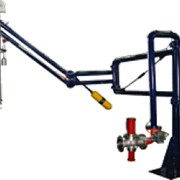 Установка для налива нефтепродуктов в вагон-цистерны УНЖ6-100АС-01 фото