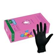 Перчатки нитриловые Safe&Care LN черные фото