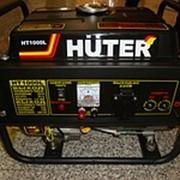 Электрогенератор бензиновый четырехтактный Huter HT1000L,мощность 1квт фото