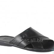 Сабо мужские 369-1022, черный фото