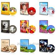 Печать на CD, DVD дисках фото