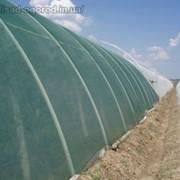 Сетка для затенения опт, 45%, Ширина сетки (м) 6(Венгрия) зелёная. фото