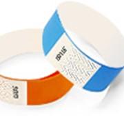 Бэнды - контрольные браслеты для идентификации посетителей в различных культурно-массовых комплексах, публичных мероприятиях. фото